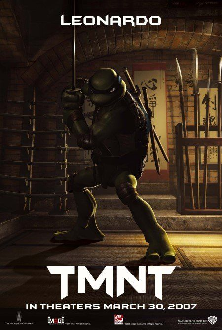Tmnt 2007 Teenage Mutant Ninja Turtles Movie Leonardo Tmnt
