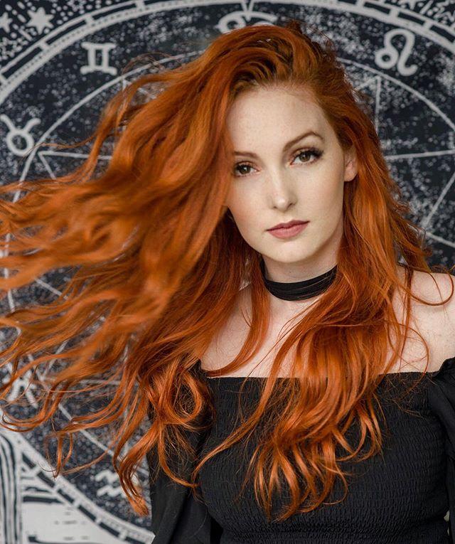 Haare irische frau rote Rot sind