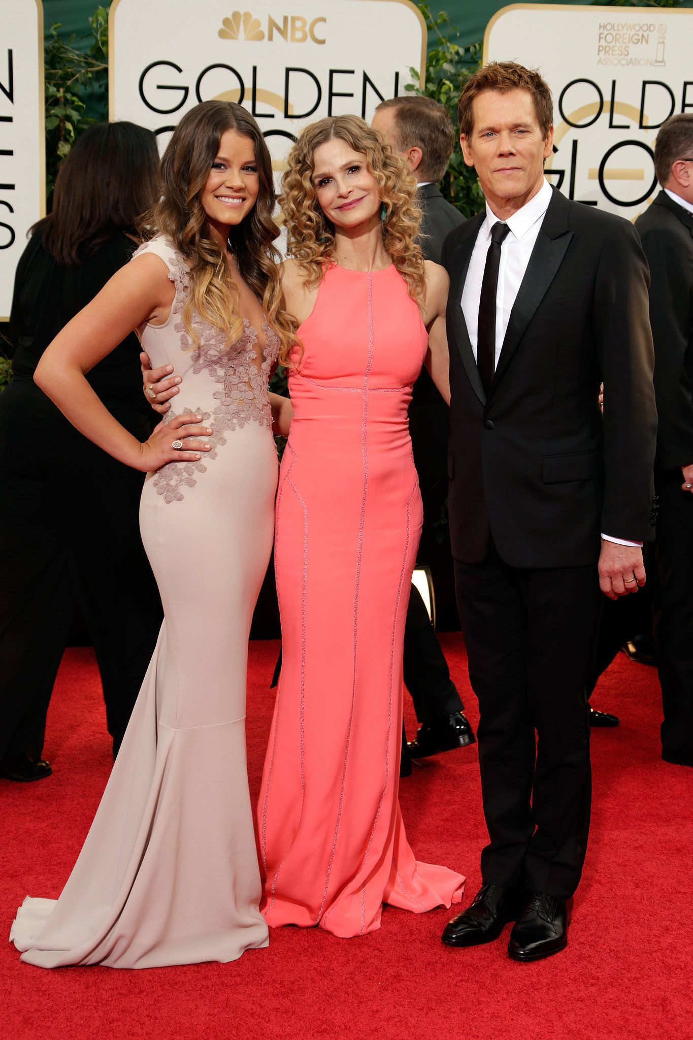 kyra sedgwick and kevin bacon hit the red carpet with