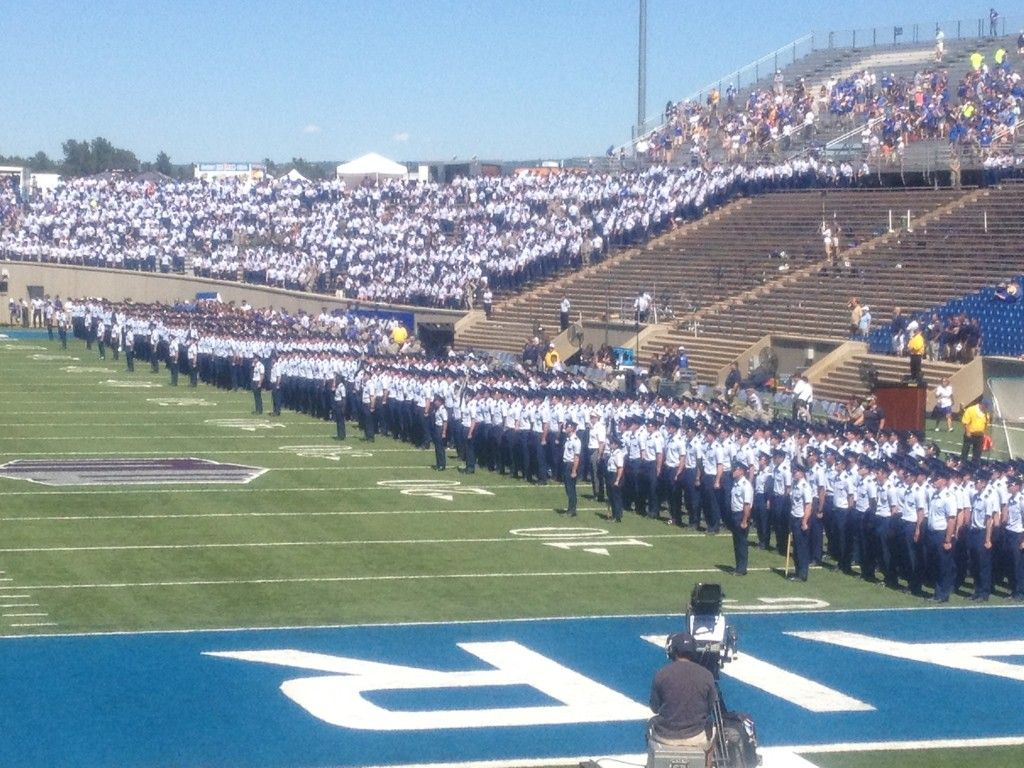 US Air Force Academy Falcons football. Affordable and not