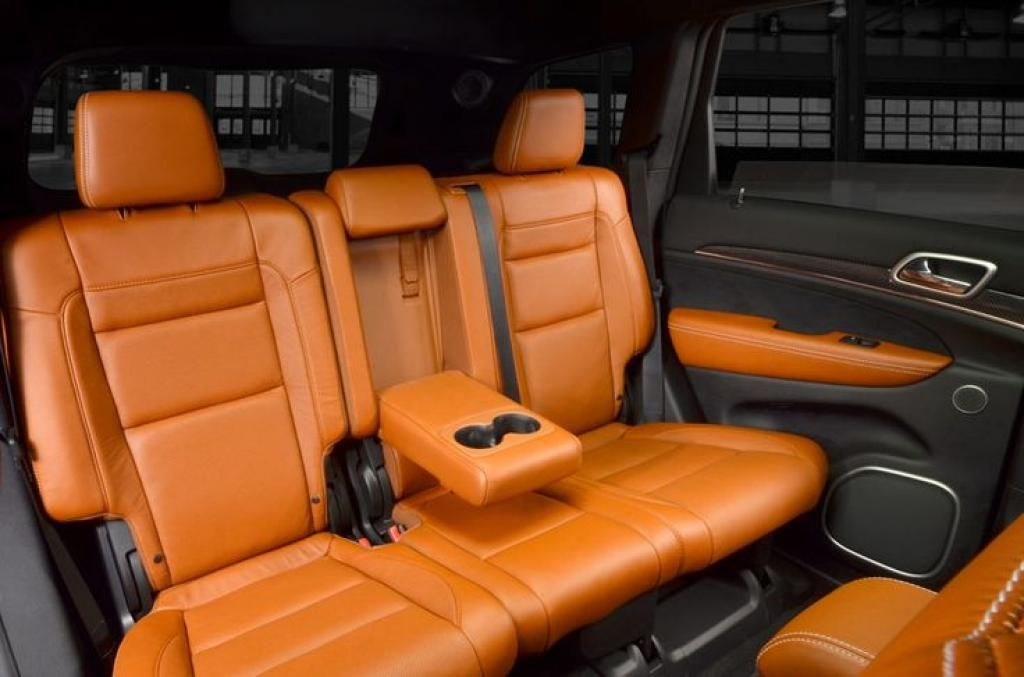 2016 Jeep Grand Cherokee SRT8 Hellcat Leather Seat