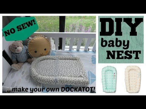 Diy No Sew Baby Nest X2f X2f Make Your Own Dockatot For 12