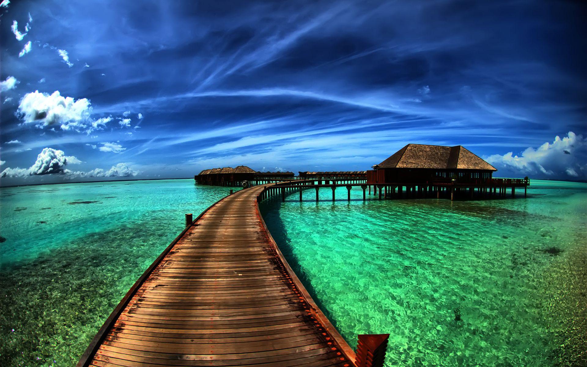 The Maldives.