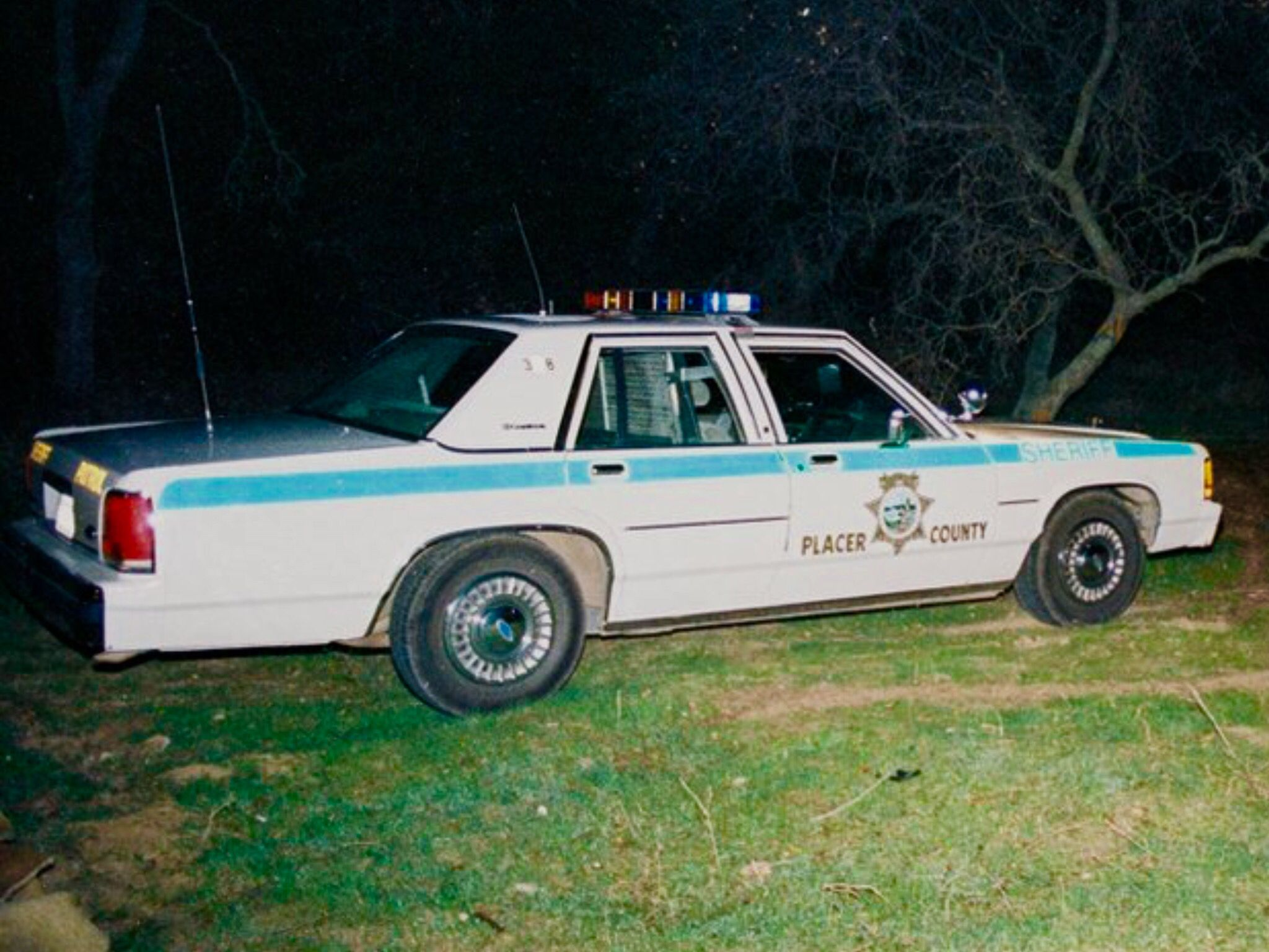 Vintage placer county ca sheriff 1980 39 s ford crown for Placer motors used cars