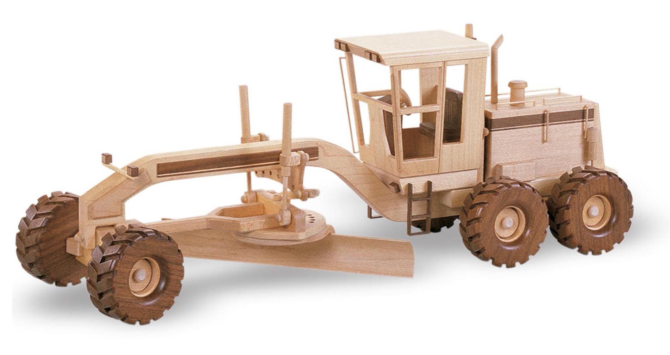 70 The Road Grader Wood Toys Plans Wooden Truck
