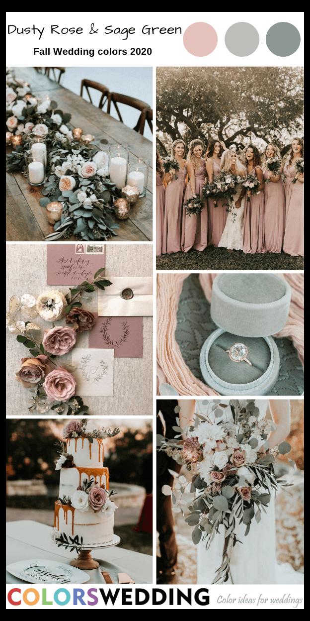 fall 2020 wedding colors -   18 sage green bridesmaid dresses fall ideas