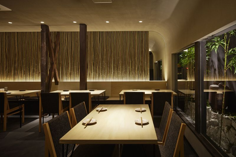 A Japanese Restaurant Interior Design By Compas Architects