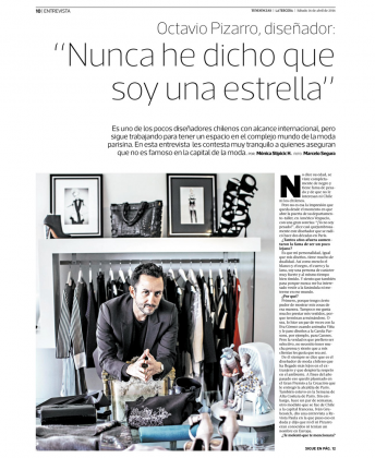 Diario La Tercera Chile - Abril