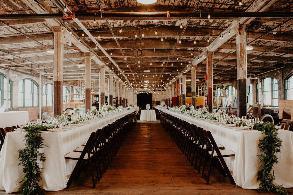 Tablescapes At The Piquette Plant In Detroit Design And Planning