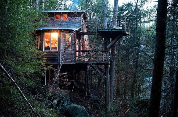 Asheville, NC Treehouse. If Ir Is Ever For Sale, I Would Be Interested