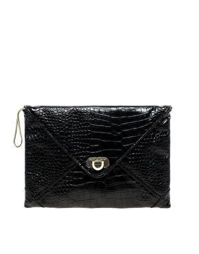 French Connection Snake Clutch Bag