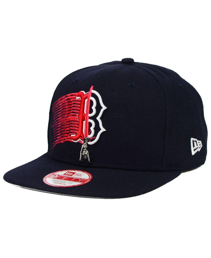 New Era Boston Red Sox Star Wars Logoswipe 9fifty Snapback Cap Sports Fan Shop By Lids Men Macy S Mens Fashion Wear Hats For Men Red Sox Cap