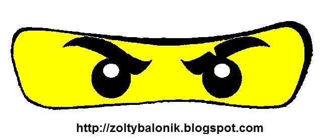Oczy3 Jpg 640 277 Pixel Ninjago Geburtstag Basteln Ninja