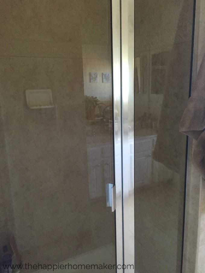 Secret To Sparkling Shower Doors Only Clean Twice A Year Shower