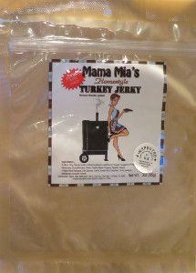 Discover how Mama Mia's - Homestyle Turkey Jerky fared in a jerky review http://jerkyingredients.com/2014/01/19/mama-mias-homestyle-turkey/ #turkeyjerky #reviews #food #jerky