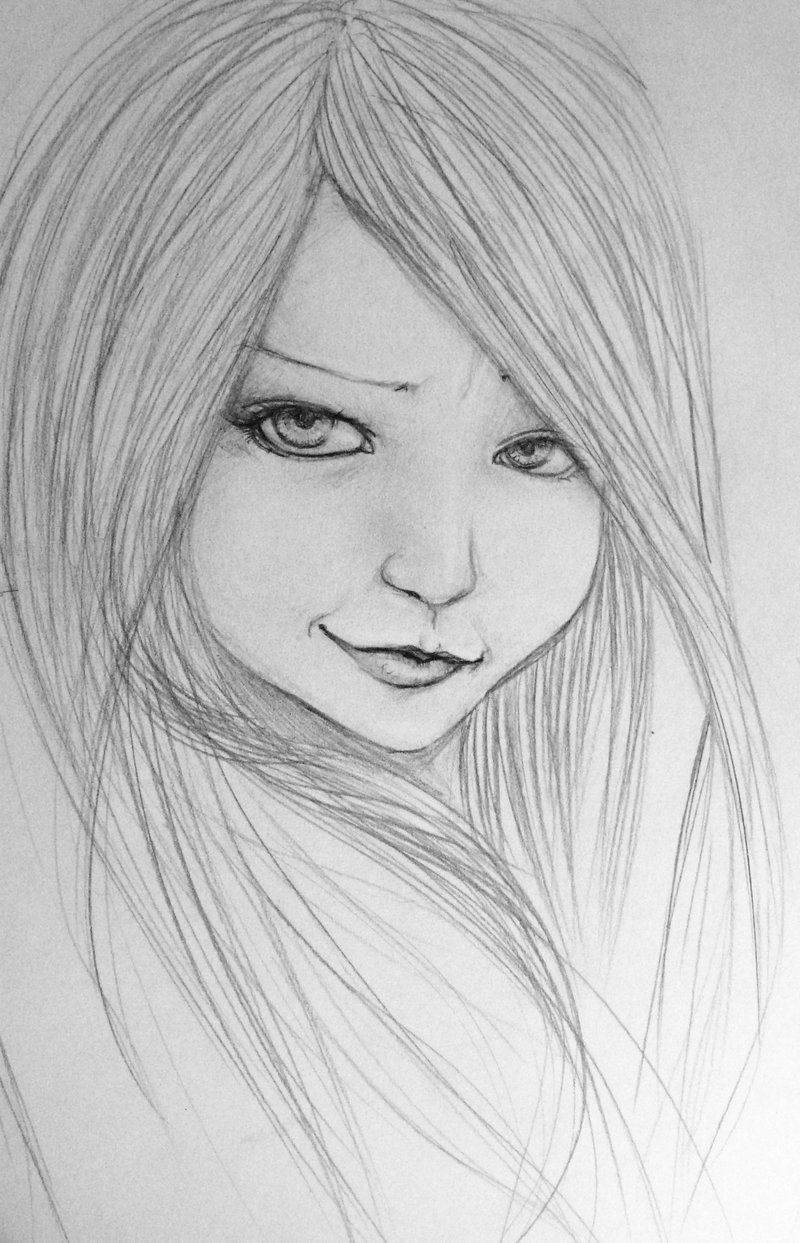 Anime drawings in pencil google search anime pics for Good and easy drawings