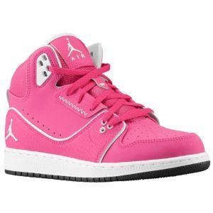 dfebed003259 Jordan 1 Flight 2 - Girls  Grade School - Vivid Pink Black