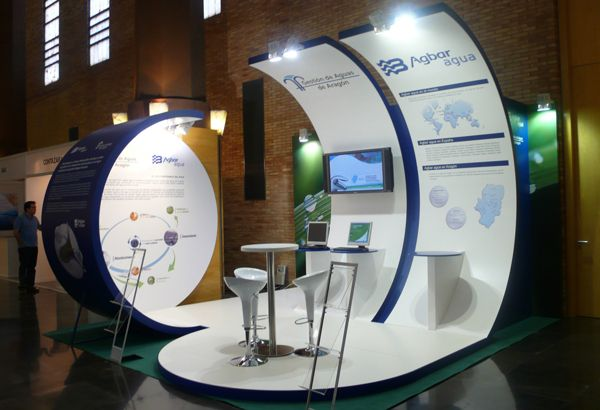 Exhibition Booth Behance : Agbar by sigfrid campamà via behance exhibition stands