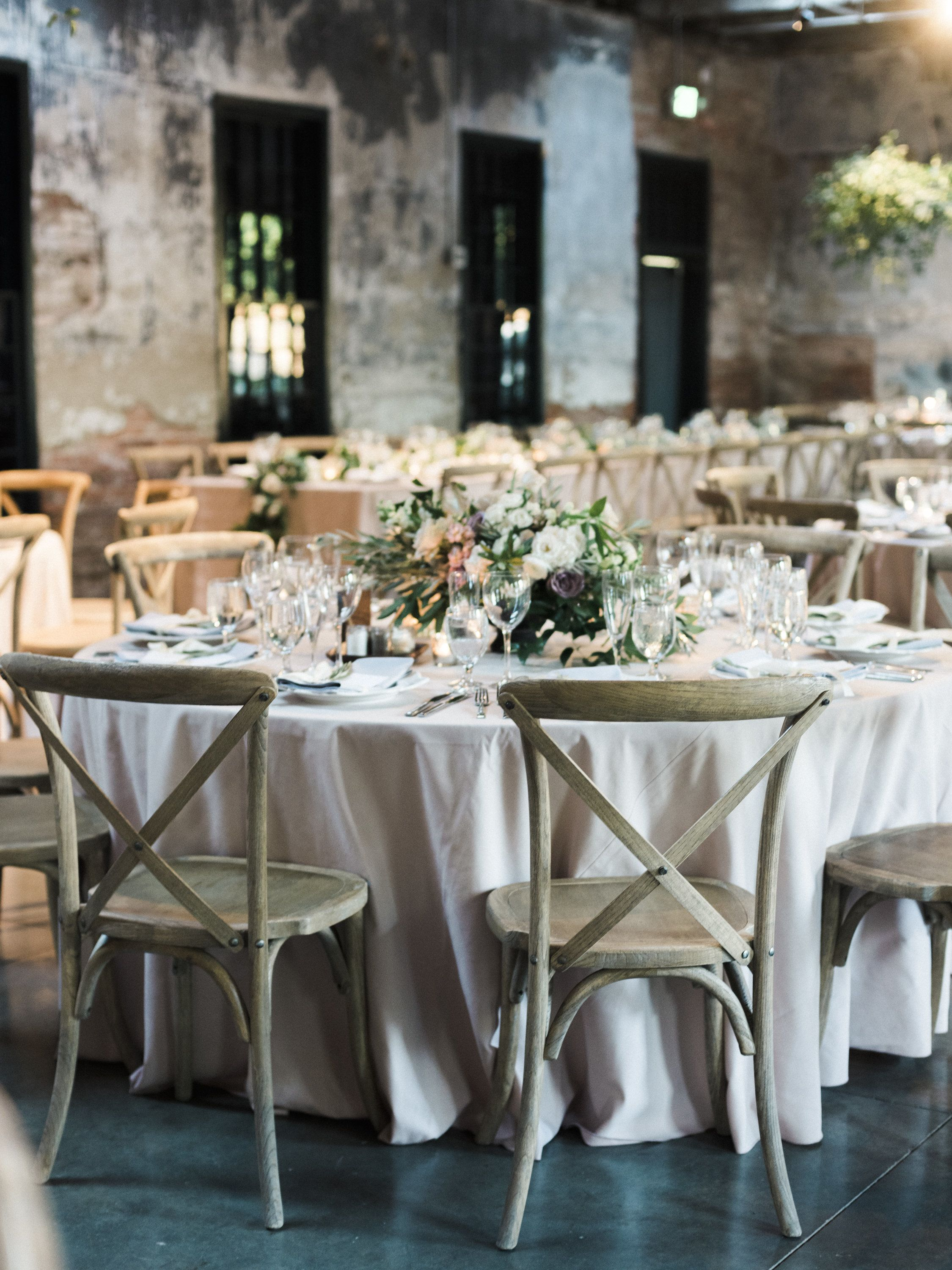 With Greenery, Garlands And Lots Of Soft Blooms, This Industrial Wedding  Venue Was Turned Into The Most Elegant And Gorgeous Reception Space.