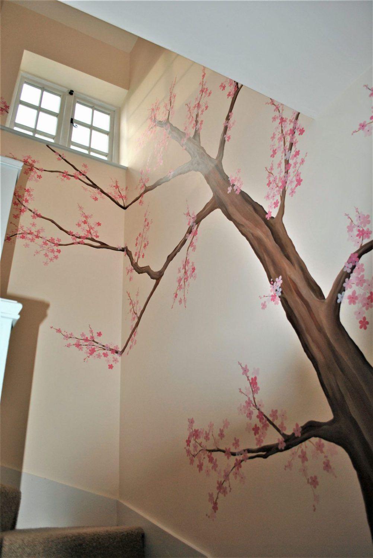 Paddington Mural Tree Wall Painting Mural Tree Mural