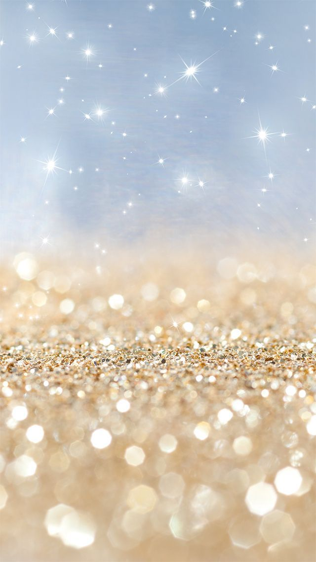 Baby Blue And Gold Glitter Wallpapers Pinterest Gold Glitter