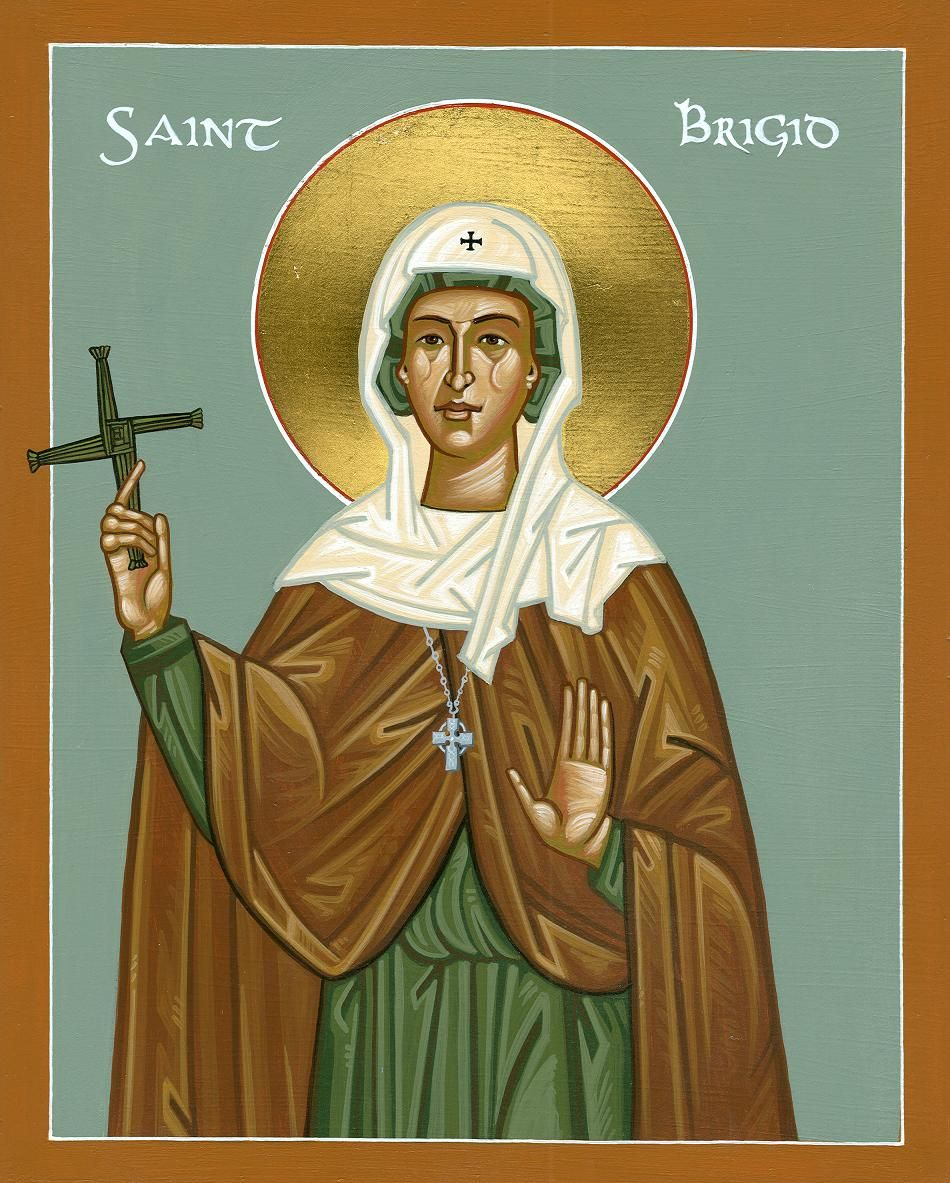 Image result for brigid of kildare