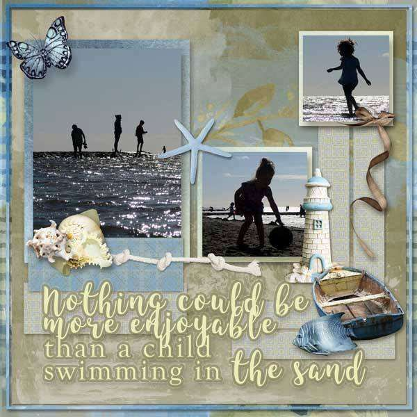Digital Art :: Kits :: Barefeet Retreat page kit by Kakleidesigns (PU, S4H)