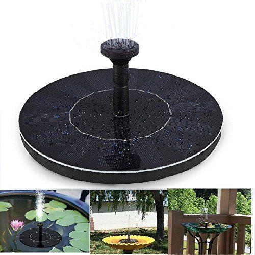 Topnma Fontaine solaire - Pompe à eau solaire 7V  14W Pompe - fontaine a eau exterieur solaire