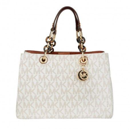 Michael Kors Tasche – Cynthia MD Satchel Bag Vanilla – in