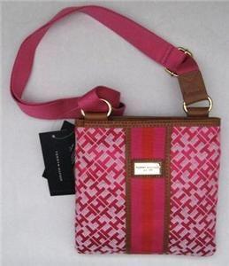 tommy hilfiger orange messenger bag for girls | Tommy Hilfiger Womens SM Xbody Purse Tote Handbag Messenger Crossbody ...