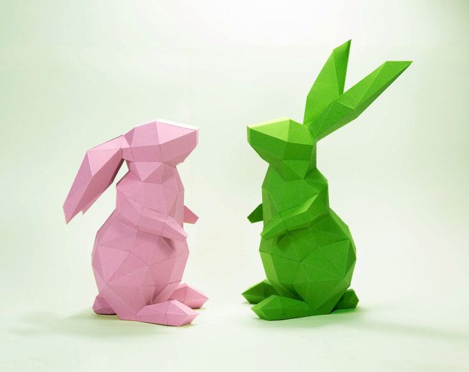 Bunny Model , Rabbit Model , Bunny paper , Rabbit paper ,Bunny low