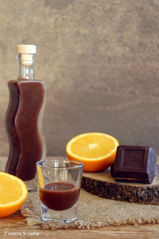 Liquore Al Cioccolato Fondente E Arancia Fai Da Te Pinterest