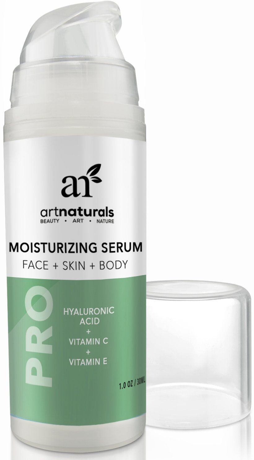 Artnaturals hyaluronic acid serum pure oz with vitamins c and