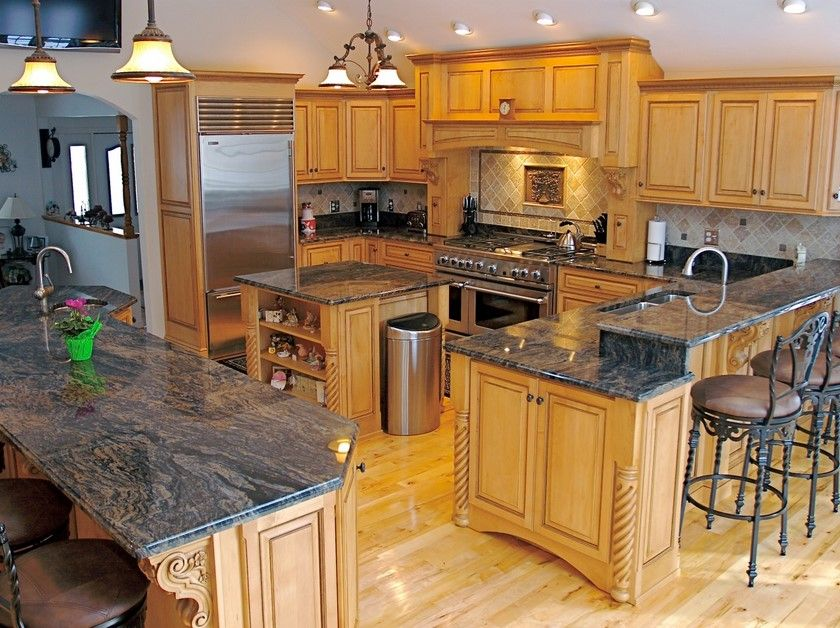 Add A Charming Look To Your 2016 Kitchen By A Well Designed Countertop Granite