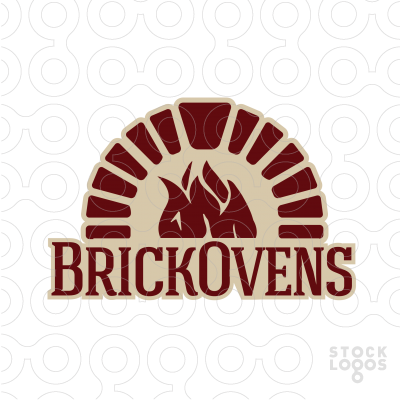 Brick Ovens logo #fire #arch #keystone | Potato Chip ...