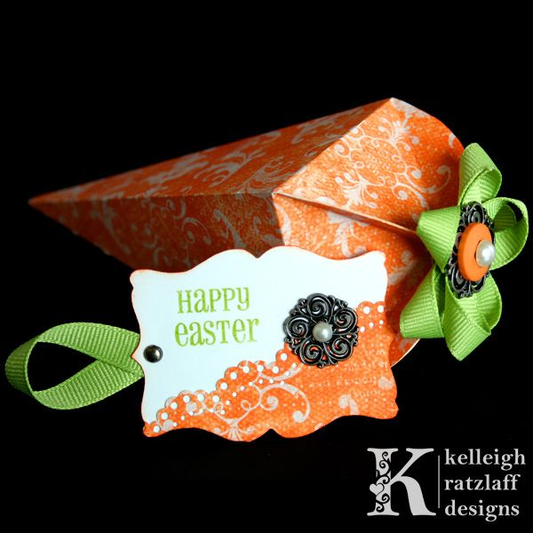 Gift boxes crepe paper flowers and girls valentine boxes d i y easter gifts paper carrot treat box crafts ideas crafts for kids negle Image collections