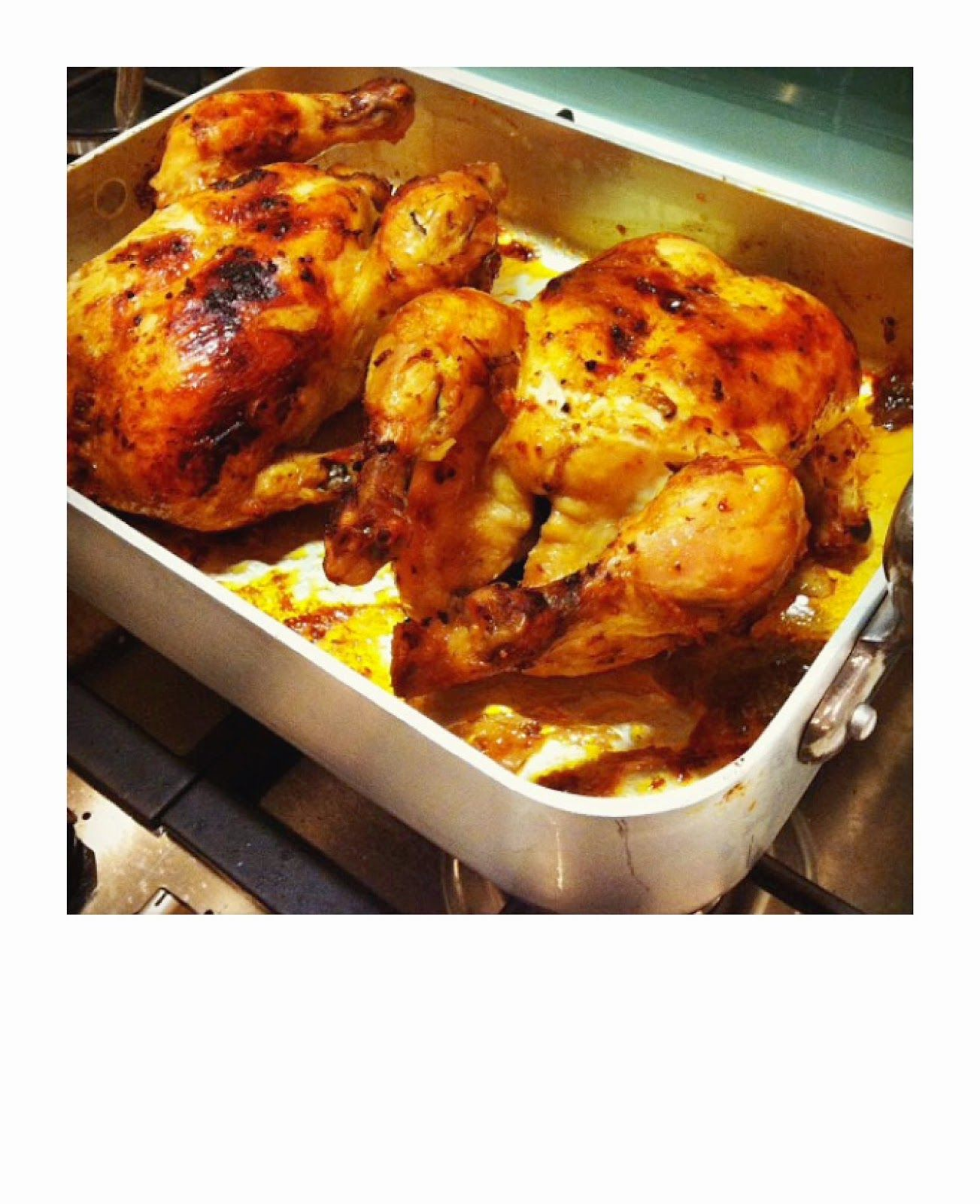 Ovnsstekt kylling, rotassery style