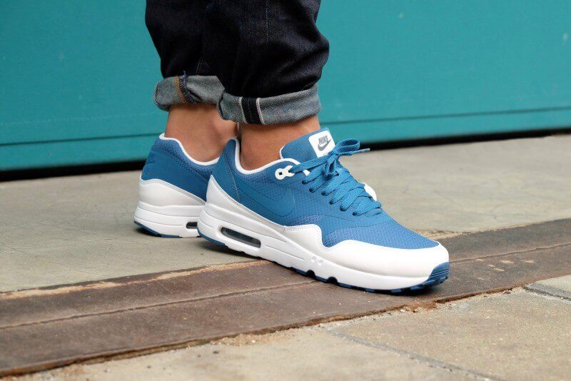 best service 65d85 88137 Nike Air Max 1 Ultra 2.0 Essential - Industrial blueindustrial Blue-White -