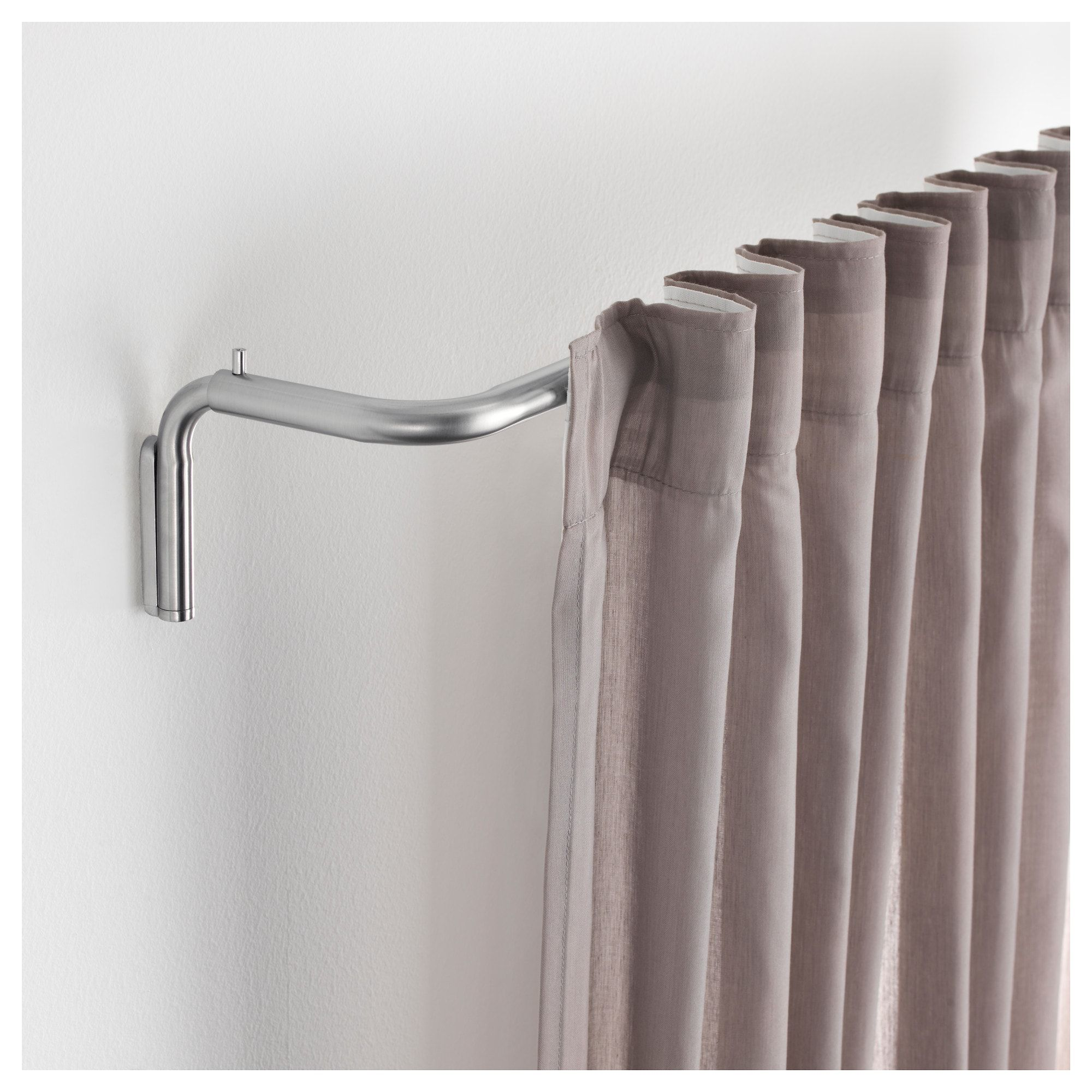 Teleskopstange Vorhang Tidpunkt Curtain Rod Set Nickel Plated Decor Curtains