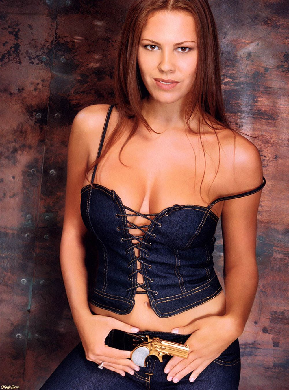 Cleavage Nikki Cox nude photos 2019