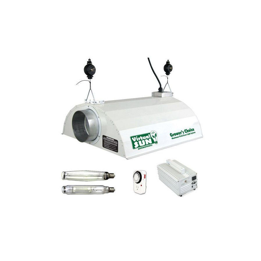 1000 Watt Grow Light Hood Reflector With Magnetic Ballast Kit Grow Lights Ballast Reflectors