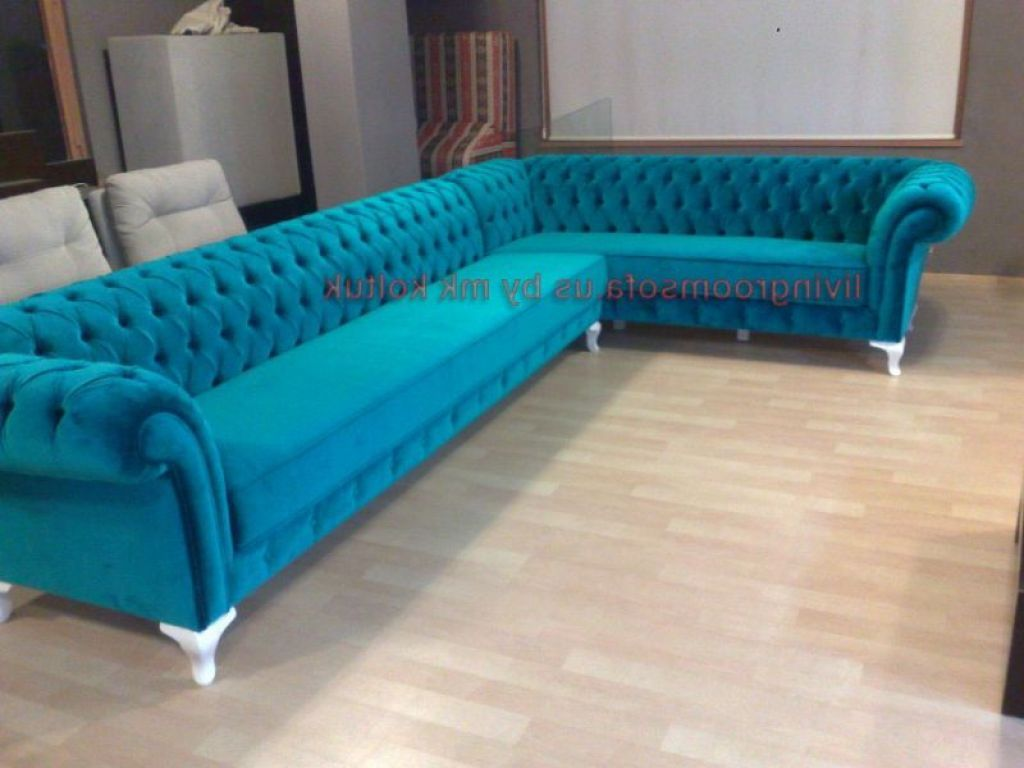 Tufted Turquoise Sofa Ersatzpolster Captivating Design Collection To Check Out