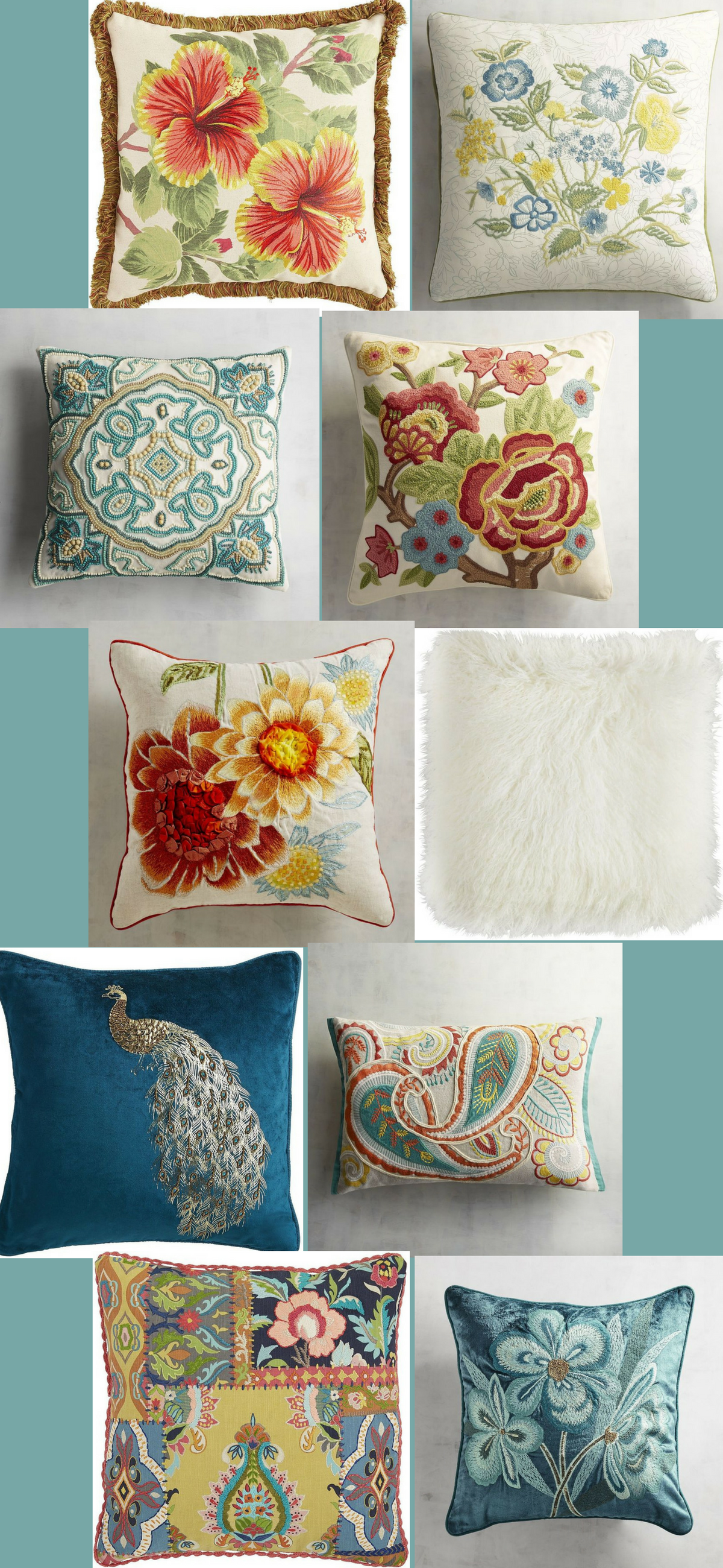 These Gorgeous Pillows Are Perfect For Decorating The Living Room,