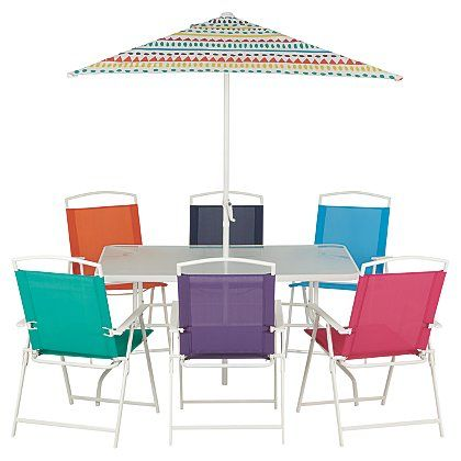 Miami 8 Piece Patio Set   Tropical Tango | Home U0026 Garden | George