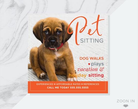 Pdf Made To Order Dog Sitter And Dog Walker Tear Off Flyer Small Dog Walker Flyer Social Media Pet Diseno Grafico Disenos De Unas Graficos