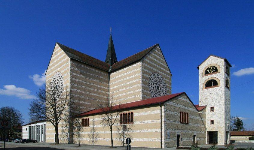 Architekt Regensburg st wolfgangs kirche in regensburg dominicus böhm architettura
