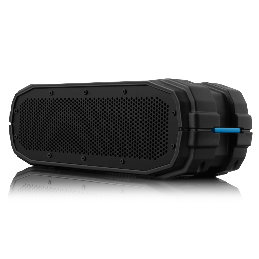 the braven brv-x outdoor wireless speaker is waterproof and rugged