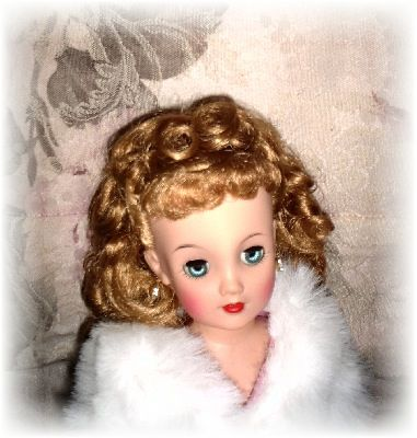 Doll Hair Care:  Rooted doll hair & wig tips.  Cleaning, styling, conditioning, curling & more. #dollcare