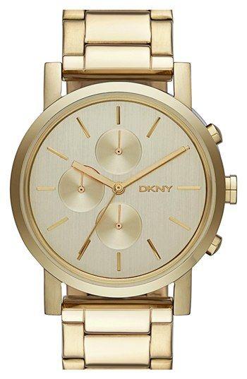 Men's DKNY 'Soho' Chronograph Bracelet Watch