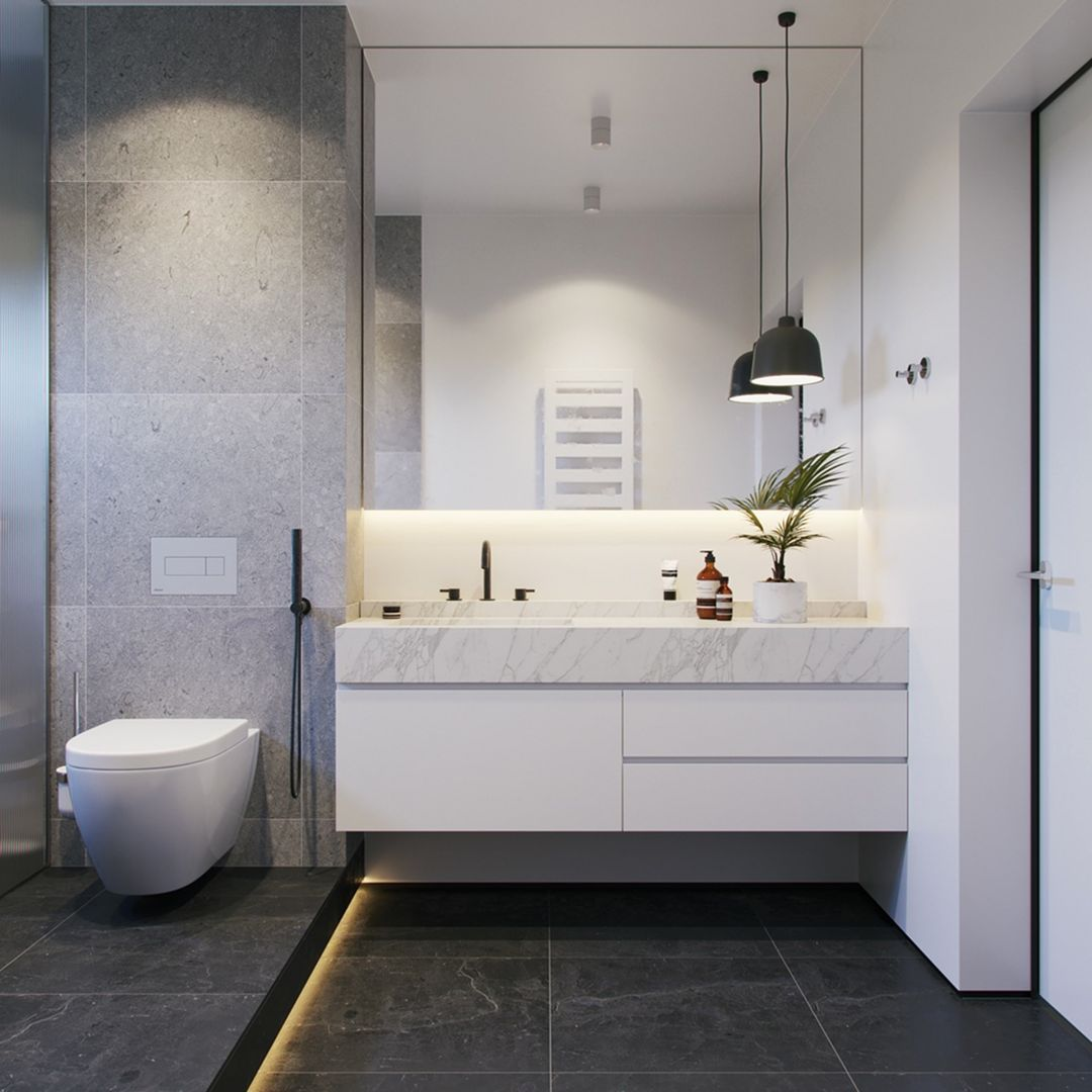 12 Amazing White Bathroom Design Ideas